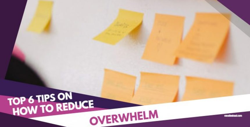Copy of How to reduce overwhelm for Pinterest - Made with PosterMyWall
